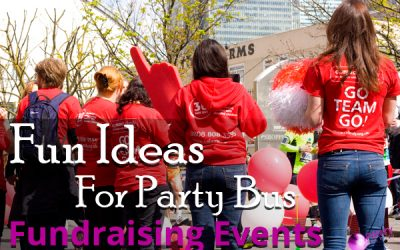 Fun Ideas For Party Bus Fundraising Events