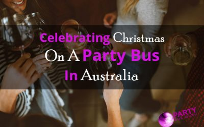 Celebrating Christmas On A Party Bus In Australia