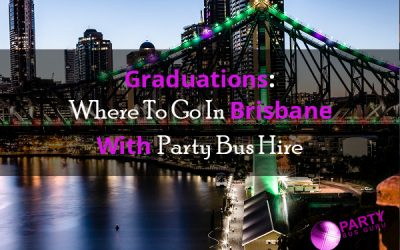 Graduations: Where To Go In Brisbane With Party Bus Hire